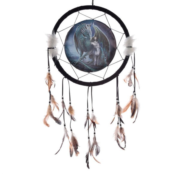 Protector Of Magick Dragon dreamcatcher 33cm (Lisa Parker)