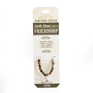 Earth Stone - Friendship - Bead Bracelet