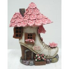 Fairy Shoe Boutique LED Fairy Garden House FV181