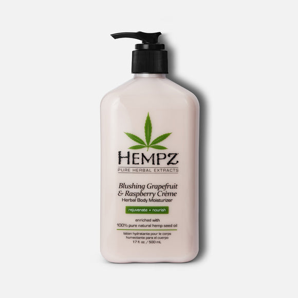 Blushing Grapefruit & Raspberry Creme - Hempz Herbal Mosturizer