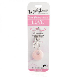 Rose Quartz - Love - Key Charm