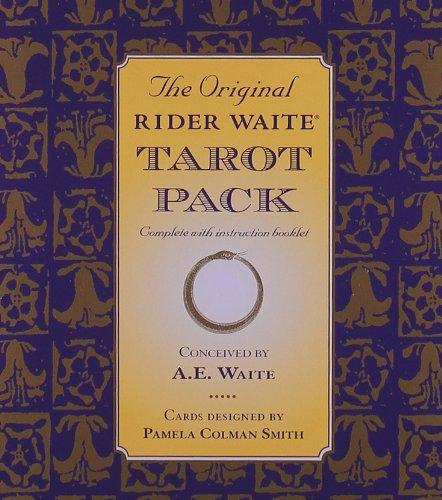 The Original Rider Waite Tarot Pack - A.E. Waite