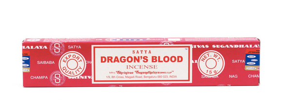 Satya - Dragons Blood Incense