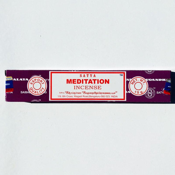 Satya - Meditation Incense