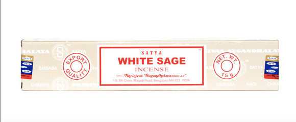 Satya - White Sage Incense