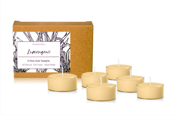 Lemongrass - Moreton Eco 6 Pack Tealights