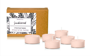 Sandalwood - Moreton Eco 6 Pack Tealights