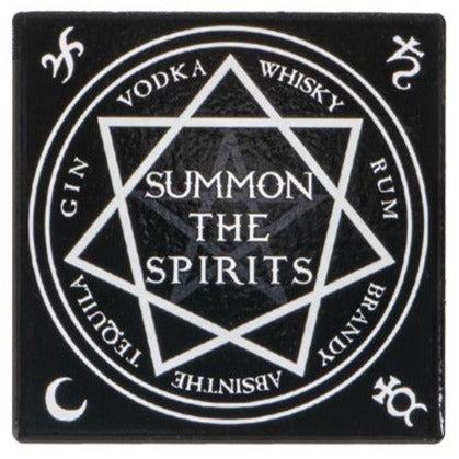 Summon the Spirits Coasters - Set of 4