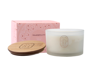 TRANQUILLITY Vanilla Dream 450g Distillery Vegan Soy Candle