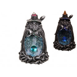Wizard Light Up Crystal Cave Backflow Incense Burner