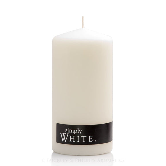 Simply Pillar Candle Standard - White