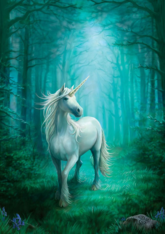 Forest Unicorn - Anne Stokes Canvas Small