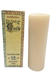 Meditation Range Candle - Tall 70hrs