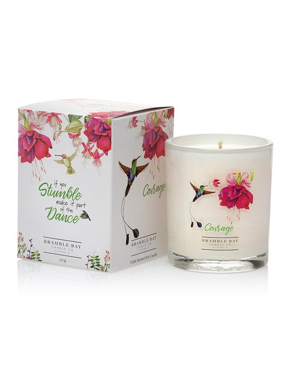 Bramble Bay 270g Candle - Courage
