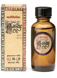 Meditation Range - Massage Oil 50ml