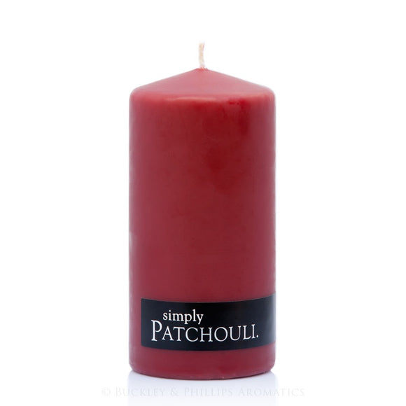 Simply Pillar Candle - Patchouli
