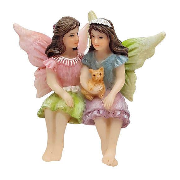 Fairy Sisters Sitting 6cm