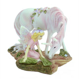 Fairy with Unicorn Pink – 17.5cm