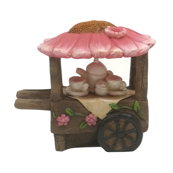 Flower Tea Cart - Fairy Garden