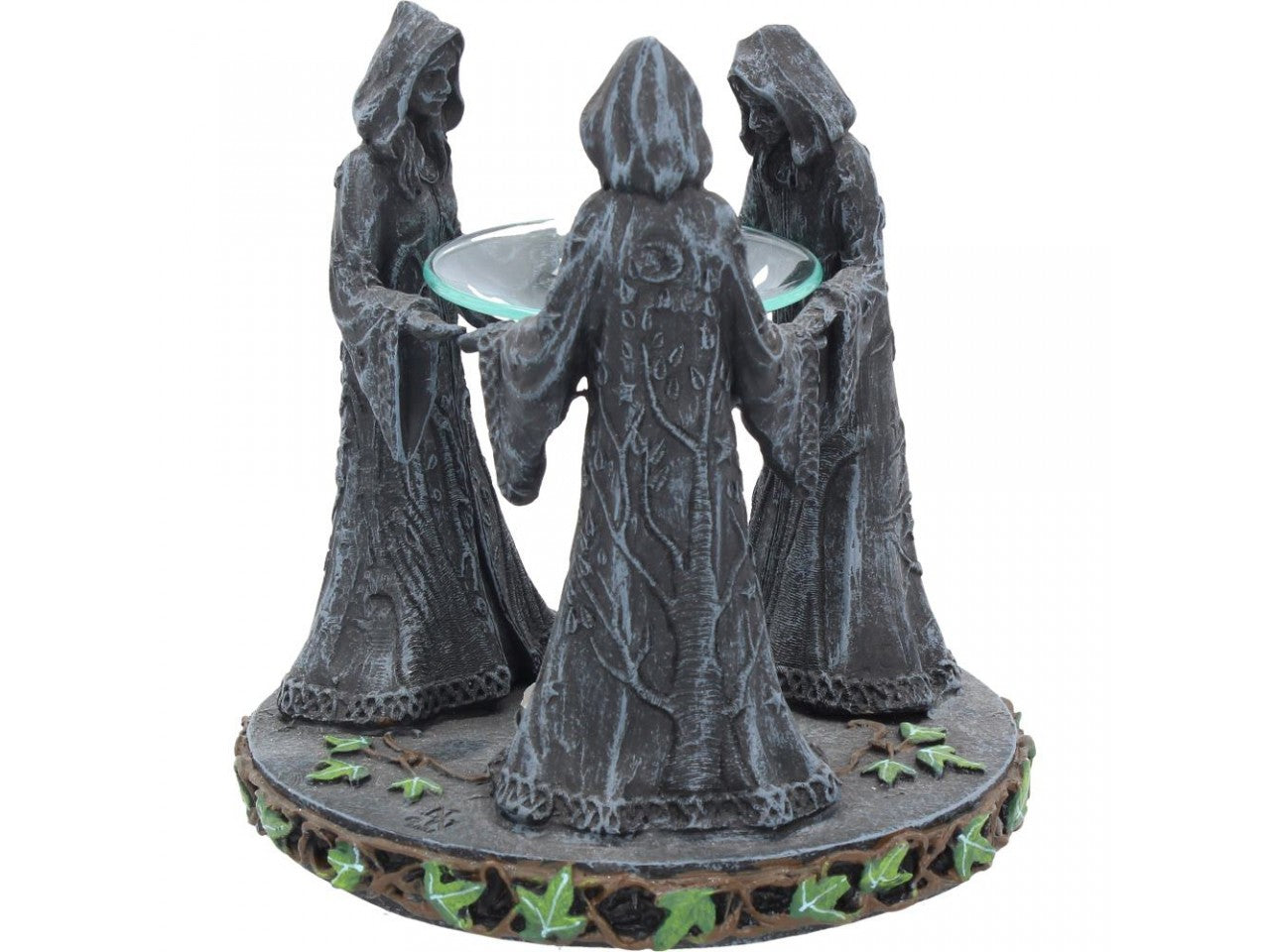 Magick Circle Mother Maiden and Crone Oil Burner 16cm