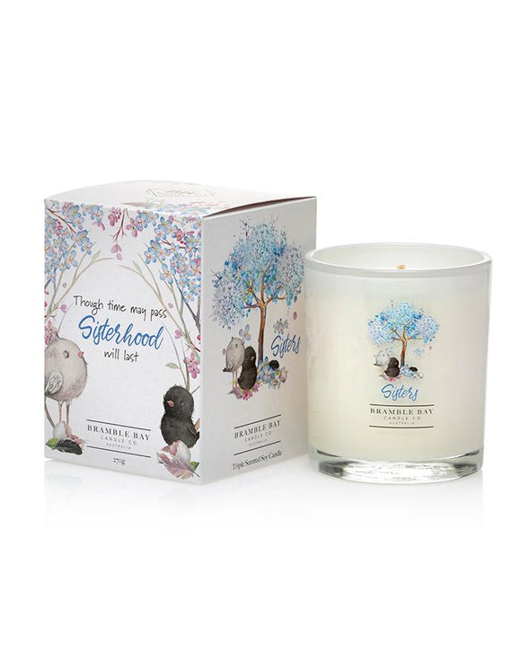 Bramble Bay 270g Candle - Sisters