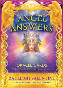 Angel Answers Oracle Cards - Radleigh Valentine