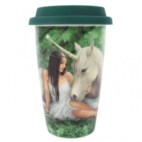 Pure Heart - Anne Stokes Travel Mug