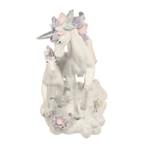 Unicorn Pair Pastel Rainbow 15cm