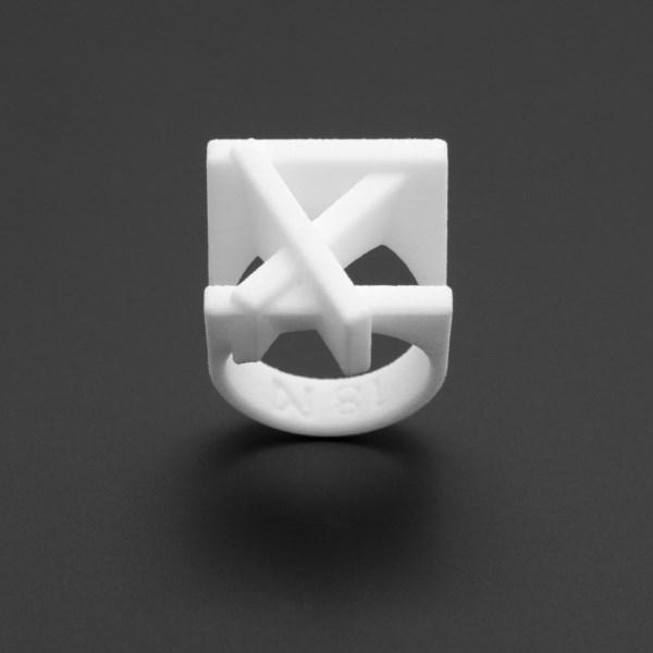 ring no.102 miznk 3d printing jewelry