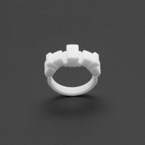 ring no.112 miznk 3d printing jewelry