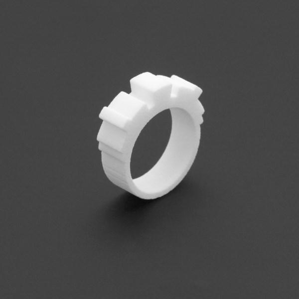 ring no.113 miznk 3d printing jewelry