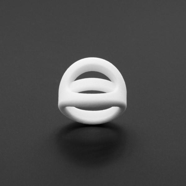 ring no.114 miznk 3d printing jewelry
