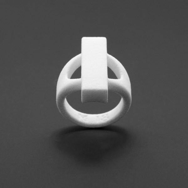 ring no.115 miznk 3d printing jewelry