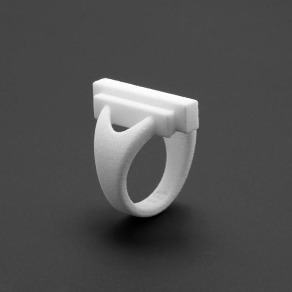ring no.116 miznk 3d printing jewelry