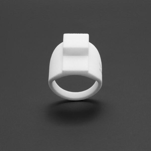 ring no.121 miznk 3d printing jewelry