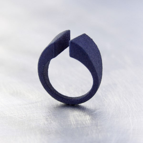 miznk 3d jewelry ring no2 Jeans Blue