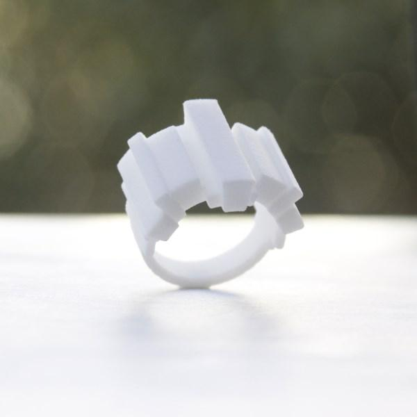 ring no.80 miznk 3d printing jewelry