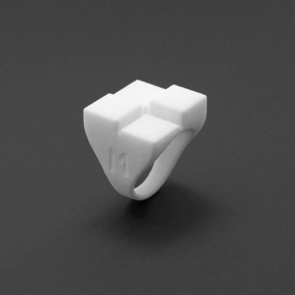 ring no.9 miznk 3d printing jewelry