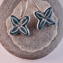 Load image into Gallery viewer, SEA GREEN PACIFICA EARRINGS 50%OFF...