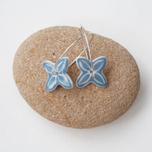 Load image into Gallery viewer, MISTY BLUE PACIFICA EARRINGS 50%OFF...