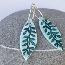 Load image into Gallery viewer, Willow Leaf Earrings