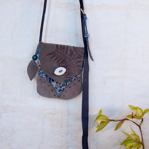 MINI SATCHEL - kauri print