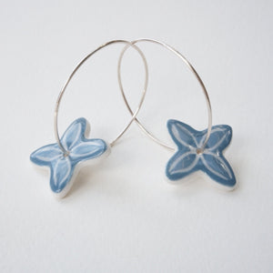 MISTY BLUE PACIFICA EARRINGS 50%OFF...