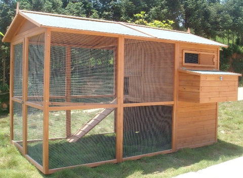 Hampshire Chicken Coop House & Run