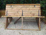 Garden Ark Deluxe Chicken House & Run (4 - 7 Days lead time)