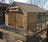 Buckingham Deluxe Chicken House and Run (4 - 7 Days lead time)