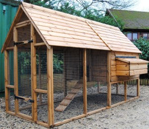 Super Sandringham Deluxe Chicken House with Run (4 - 7 Days lead time)