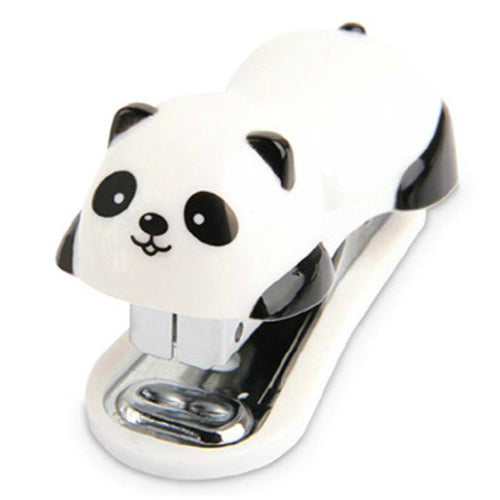 Cute Kawaii Cartoon Panda Stapler Set