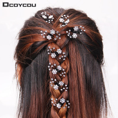 Snowflake Hair Claws for Women