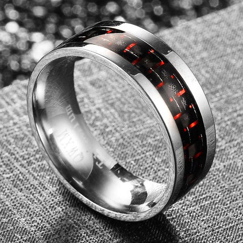 💍womens Red ring